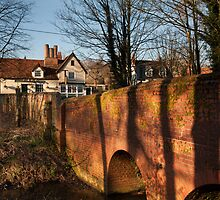 Chelsworth Bridge by Christopher Cullen