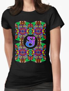 String Cheese Incident - Trippy Pattern 3 Womens Fitted T-Shirt
