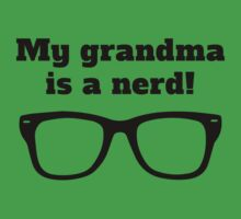 My Grandma Is A Nerd Kids Tee