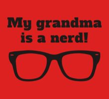 My Grandma Is A Nerd One Piece - Long Sleeve