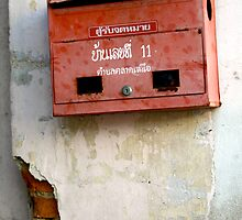 Phuket Mailbox by skellyfish