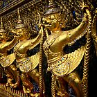 Grand Palace in Bangkok by skellyfish