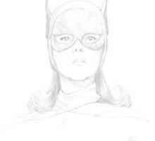 Batgirl - Yvonne Craig by kerchow