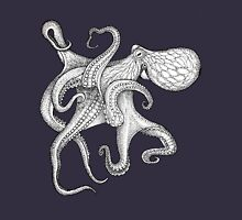 Tentacle Tee. Unisex T-Shirt