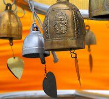 The Bells of Wat Saket II by skellyfish