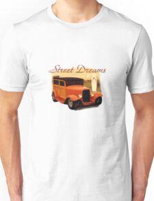 Street Dreams Woody at the Beach Unisex T-Shirt