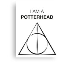 I am a Potterhead Canvas Print