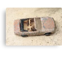 rusty classic car Canvas Print