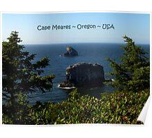 PostCard Extravaganza: Cape Meares Poster
