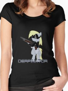 DERPINATOR Women's Fitted Scoop T-Shirt