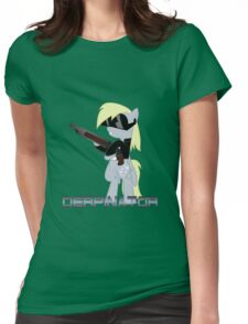 DERPINATOR Womens Fitted T-Shirt