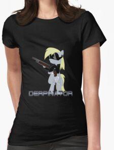 DERPINATOR Womens Fitted T-Shirt