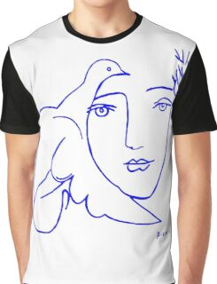 Dove Face by Picasso Graphic T-Shirt