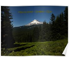 PostCard Extravaganza: Mount Hood Poster