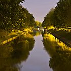 Night canal - long exposure by Nick Mooney