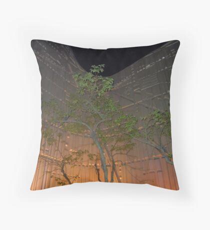 The Future Garden Throw Pillow