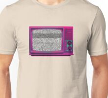 Old Static Television Unisex T-Shirt