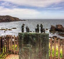 The Memorial at St Abbs by Tom Gomez