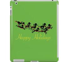 Poodle Sleigh iPad Case/Skin