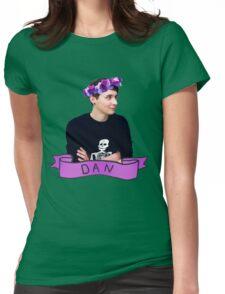 Dan  Womens Fitted T-Shirt