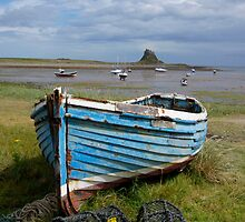 Holy Island Harbour, UK by highhopes2