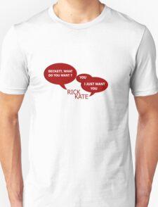 Beckett what do you want ?  T-Shirt