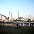 Deserted Amusement Park by skellyfish