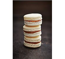 French macarons Photographic Print