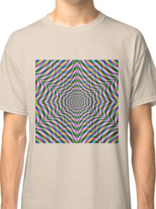 Twelve Pointed Psychedelic Web Classic T-Shirt