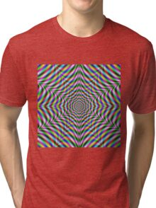 Twelve Pointed Psychedelic Web Tri-blend T-Shirt