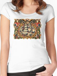 Spitshading 026 Women's Fitted Scoop T-Shirt