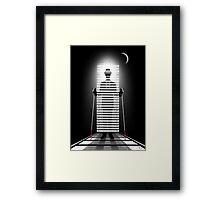 Mr. Blind Man Framed Print
