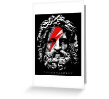Zeus Stardust Greeting Card