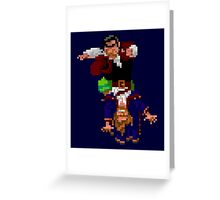 Largo LaGrande and Guybrush (Monkey Island 2) Greeting Card