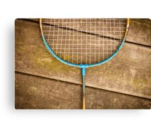 Badminton racket Canvas Print