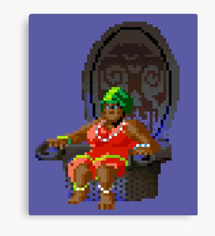 The Voodoo Lady! (Monkey Island 2) Canvas Print