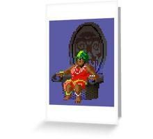 The Voodoo Lady! (Monkey Island 2) Greeting Card