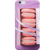 Pink macarons iPhone Case/Skin