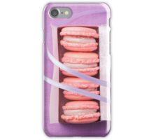 Pink macarons iPhone Case/Skin