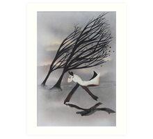 Wind... Art Print