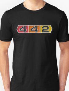 Oldsmobile 442 badge emblem Unisex T-Shirt