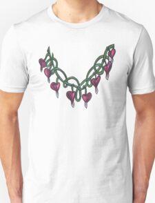 bleeding heart necklace T-Shirt