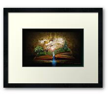 The Book of Dreams Framed Print