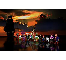 Secret of Monkey Island pixel art Photographic Print