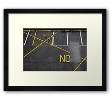 There's No Other Way (2) Framed Print