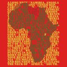 Wrapping Africa by Bjondon
