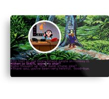 Lucas Arts call center (Monkey Island 2) Metal Print