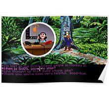 Lucas Arts call center (Monkey Island 2) Poster