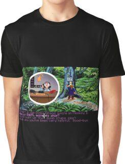 Lucas Arts call center (Monkey Island 2) Graphic T-Shirt