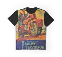 Vintage Harley Poster Graphic T-Shirt